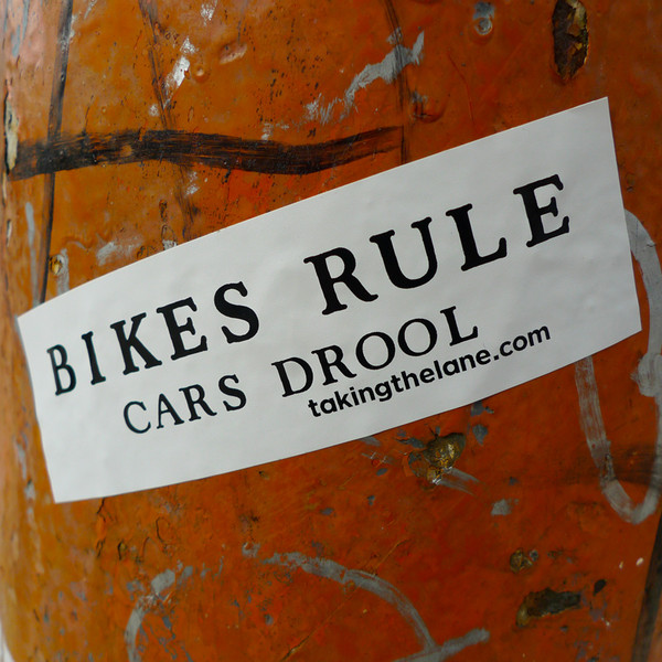 Bikes Rule Cars Drool sticker