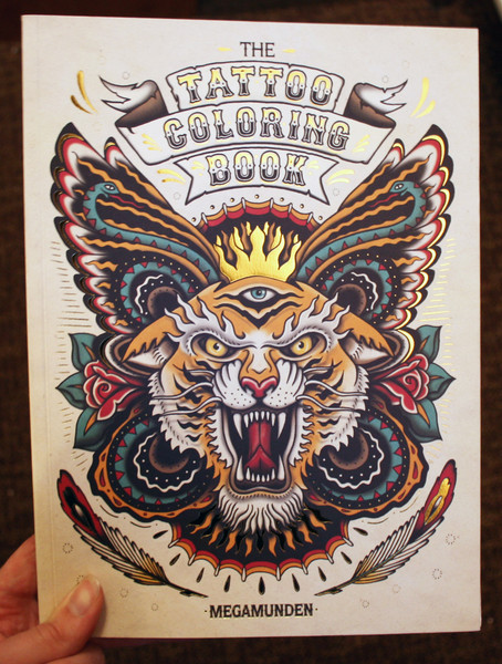 The Tattoo Coloring Book Microcosm Publishing