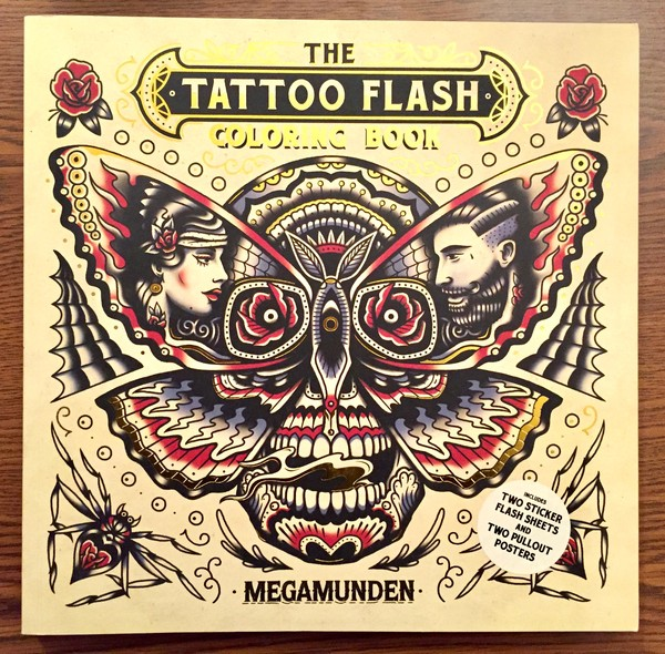 The Tattoo Flash Coloring Book | Microcosm Publishing