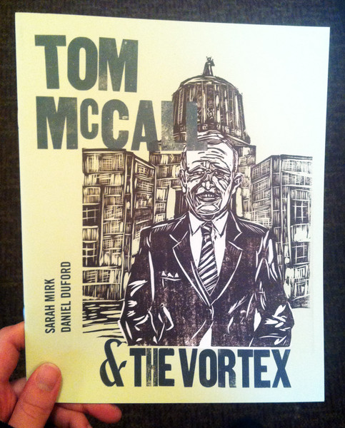 tom mccall and the vortex by sarah mirk and daniel duford