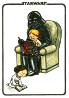 Darth Vader and Son Flexi Journal