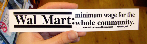 Sticker #096: Wal Mart