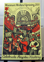 Wisconsin Workers' Uprising 2011 poster