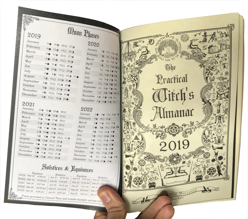 The Practical Witch's Almanac 2019: Expanding Horizons image #4