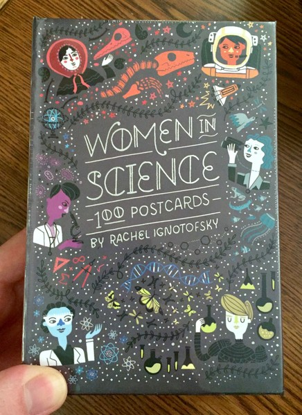 Science Woman Observes the Rise and Fall of the Roman Empire Postcards 5  Postcards