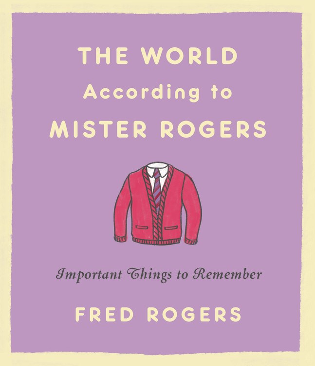 Mr. Rogers' iconic red cardigan