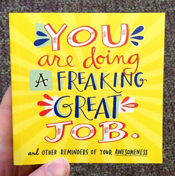 Amazing Great Job: You Are Doing A Freaking Great Job.: And Other Reminders