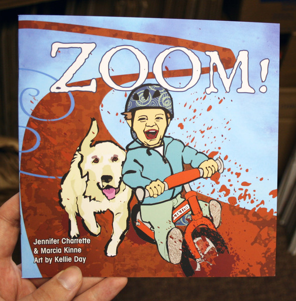 zoom! by jennifer charrette, marcia kinne, kellie day, and george hincapie